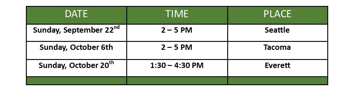 Oct PS schedule (2)